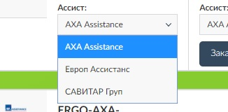 ассистансы компании ERGO
