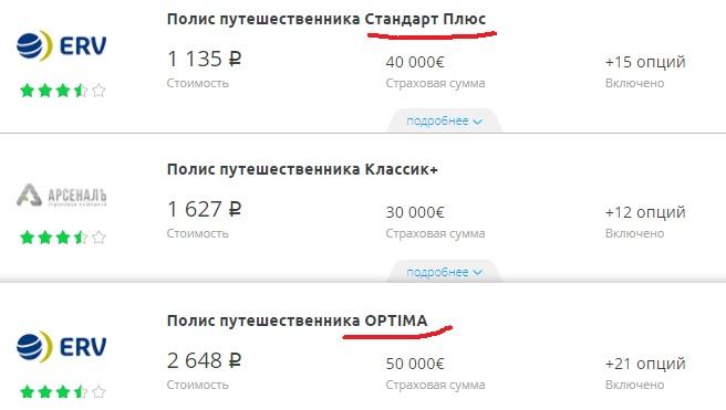 полис для беременных на Сравни.ру