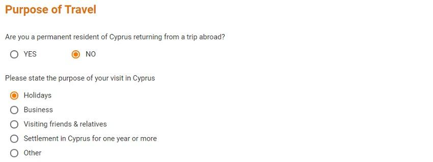цель визита на Кипр